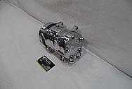 Aluminum V8 Engine AC Compressor AFTER Chrome-Like Metal Polishing and Buffing Services / Restoration Services