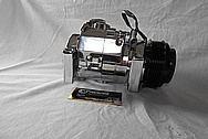 Aluminum AC Compressor AFTER Chrome-Like Metal Polishing and Buffing Services / Restoration Services