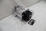 Aluminum AC Compressor AFTER Chrome-Like Metal Polishing - Aluminum Polishing