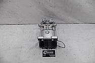 Aluminum AC Compressor AFTER Chrome-Like Metal Polishing - Aluminum Polishing