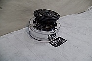 1993 Buick Roadmaster Steel AC Compressor AFTER Chrome-Like Metal Polishing - Steel Polishing Services
