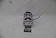1993 Ford Lightning Aluminum AC Compressor AFTER Chrome-Like Metal Polishing - Aluminum Polishing Services