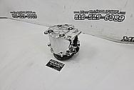 Aluminum AC Compressor AFTER Chrome-Like Metal Polishing - Aluminum Polishing Services