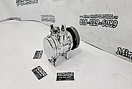 Aluminum AC Compressor AFTER Chrome-Like Metal Polishing - Aluminum Polishing - AC Compressor Polishing