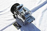 Dodge Hemi 6.1L V8 Aluminum AC Compressor AFTER Chrome-Like Metal Polishing and Buffing Services