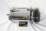 1975 Camaro V8 AC Compressor AFTER Chrome-Like Metal Polishing and Buffing Services