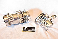 1967 Chevy Camaro V8 Aluminum AC Compressor AFTER Chrome-Like Metal Polishing and Buffing Services