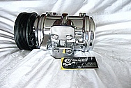 Aluminum AC Compressor AFTER Chrome-Like Metal Polishing and Buffing Services