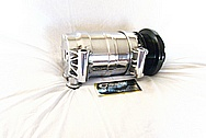 2002 Chevy S10 Aluminum AC Compressor AFTER Chrome-Like Metal Polishing and Buffing Services