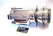 1976 Chevy Corvette Steel AC Compressor AFTER Chrome-Like Metal Polishing and Buffing Services