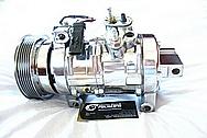 Dodge Hemi 6.1L Engine AC Compressor AFTER Chrome-Like Metal Polishing and Buffing Services