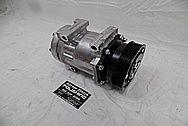 1993 Ford Lightning Aluminum AC Compressor BEFORE Chrome-Like Metal Polishing - Aluminum Polishing Services