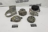 Aluminum AC Compressor BEFORE Chrome-Like Metal Polishing - Aluminum Polishing - AC Compressor Polishing