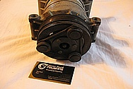 2001 GMC Sierra V8 350 Cu. In. 5.7L Engine Aluminum AC Compressor BEFORE Chrome-Like Metal Polishing and Buffing Services