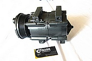 Aluminum AC Compressor BEFORE Chrome-Like Metal Polishing and Buffing Services