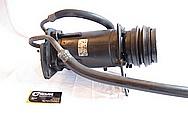 1975 Camaro V8 AC Compressor BEFORE Chrome-Like Metal Polishing and Buffing Services
