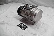 Aluminum AC Compressor Housing BEFORE Chrome-Like Metal Polishing - Aluminum Polishing