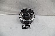 1993 Buick Roadmaster Steel AC Compressor BEFORE Chrome-Like Metal Polishing - Steel Polishing Services