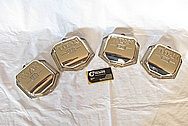 Aircraft Aluminum Titan ECI Engine Covers AFTER Chrome-Like Metal Polishing and Buffing Services