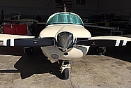 Customers Aluminum Aircraft Spinner AFTER Chrome-Like Metal Polishing - Aluminum Polishing Services - Aircraft Polishing Services