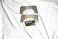 Mooney Aluminum Airplane / Aircraft Brackets AFTER Chrome-Like Metal Polishing and Buffing Services