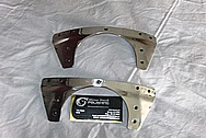 Aluminum Aircraft Parts AFTER Chrome-Like Metal Polishing and Buffing Services