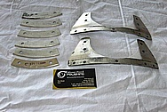 Aluminum Aircraft Parts BEFORE Chrome-Like Metal Polishing and Buffing Services