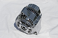 Toyota Supra Aluminum Alternator AFTER Chrome-Like Metal Polishing and Buffing Services