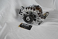 Aluminum, Finned Cast Alternator AFTER Chrome-Like Metal Polishing and Buffing Services / Restoration Services