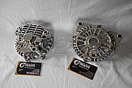Aluminum V8 Engine Alternator AFTER Chrome-Like Metal Polishing and Buffing Services / Restoration Service