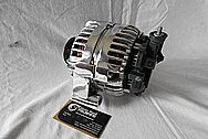 Aluminum Alternator AFTER Chrome-Like Metal Polishing and Buffing Services / Restoration Services