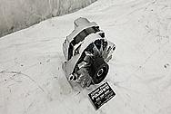 Buick Grand National Aluminum Alternator AFTER Chrome-Like Metal Polishing - Aluminum Alternator Polishing