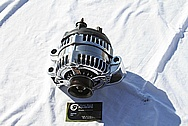 Dodge Hemi 6.1L V8 Aluminum Alternator AFTER Chrome-Like Metal Polishing and Buffing Services
