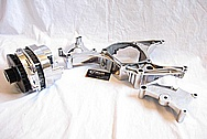 1994 Chevy ZR-1 Corvette V8 Aluminum Alternator AFTER Chrome-Like Metal Polishing and Buffing Services