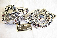 1993 RX7 Rotary Aluminum Alternator AFTER Chrome-Like Metal Polishing and Buffing Services