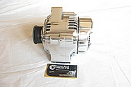 1993-1998 Toyota Supra 2JZ-GTE Aluminum Alternator AFTER Chrome-Like Metal Polishing and Buffing Services