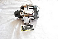 Chevrolet C5 Corvette V8 Aluminum Alternator AFTER Chrome-Like Metal Polishing and Buffing Services