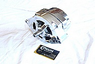 Chevrolet Aluminum Alternator AFTER Chrome-Like Metal Polishing and Buffing Services