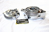 Ford G3 Aluminum Alternator AFTER Chrome-Like Metal Polishing and Buffing Services