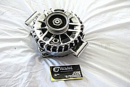 Ford Mustang Aluminum Alternator AFTER Chrome-Like Metal Polishing and Buffing Services