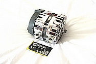 2010 Chevrolet Corvette ZR-1 Aluminum Alternator BEFORE Chrome-Like Metal Polishing and Buffing Services