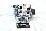 Dodge Hemi 6.1L Engine Aluminum Alternator AFTER Chrome-Like Metal Polishing and Buffing Services
