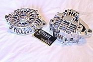 1993 Mazda RX7 Aluminum Alternator AFTER Chrome-Like Metal Polishing and Buffing Services / Restoration Services