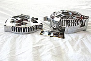 Aluminum Engine Alternator AFTER Chrome-Like Metal Polishing and Buffing Services / Restoration Services