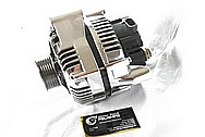 2000 Chevy Corvette Aluminum Alternator AFTER Chrome-Like Metal Polishing and Buffing Services / Restoration Services