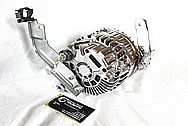 Nissan GTR Aluminum Alternator AFTER Chrome-Like Metal Polishing and Buffing Services / Restoration Services