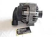 1996 Chevy Tahoe Vortec 350 V8 Aluminum Alternator BEFORE Chrome-Like Metal Polishing and Buffing Services