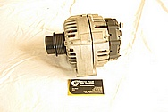 Chevrolet C5 Corvette V8 Aluminum Alternator BEFORE Chrome-Like Metal Polishing and Buffing Services