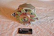 Chevrolet Aluminum Alternator BEFORE Chrome-Like Metal Polishing and Buffing Services
