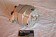 Chevrolet Aluminum Alternator BEFORE Chrome-Like Metal Polishing and Buffing Services